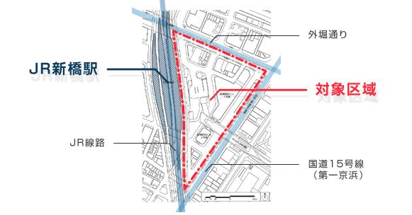 再開発検討区域 MAP